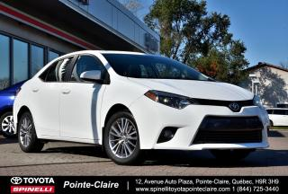 Used 2015 Toyota Corolla LE UPGRADE PKG for sale in Pointe-Claire, QC