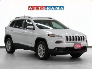 Used 2016 Jeep Cherokee 4x4 North Panoramic Sunroof Navigation Backup Cam for sale in Toronto, ON