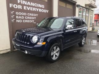 Used 2016 Jeep Patriot HIGH ALTITUDE 4WD for sale in Abbotsford, BC