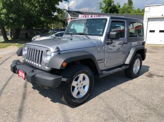 Used 2016 Jeep Wrangler Sport/Automatic/Air Condition/Certified/Bluetooth for sale in Scarborough, ON