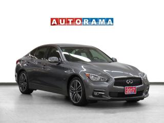 Used 2017 Infiniti Q50 AWD Navigation Leather Sunroof Backup Camera for sale in Toronto, ON