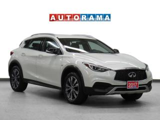 Used 2017 Infiniti QX30 4WD Leather Backup Cam for sale in Toronto, ON