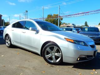 Used 2012 Acura TL SH-AWD 6MT Tech Pkg.Navigation.Camera.Leather.Roof for sale in Kitchener, ON