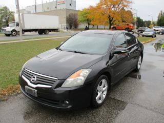 Used 2007 Nissan Altima V6 3.5 SE~LEATHER~SUNROOD~HEATED SEATS~CERTIFIED! for sale in Toronto, ON