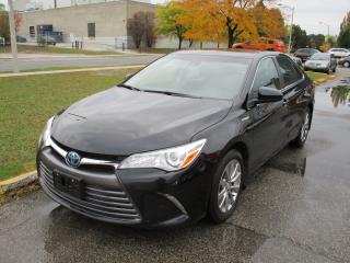 Used 2017 Toyota Camry HYBRID XLE~FULLY LOADED~LEATHER~BSM~NAV.~BACK-UP for sale in Toronto, ON