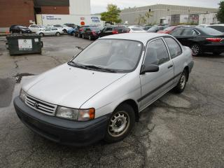 Used 1991 Toyota Tercel DX~2 DOOR~AUTO~LOW KM'S~DRIVES GOOD!!! for sale in Toronto, ON