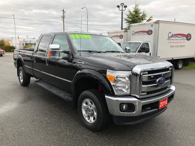 2016 Ford F-350 XL 4x4 6.2L Gas