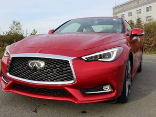 Used 2017 Infiniti Q60 3.0T Red Sport 400 for sale in Halifax, NS