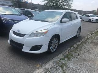 Used 2009 Toyota Matrix XRS,ALLOYS,S/ROOF,SAFETY+3 YEARS WARRANTY INCLUDED for sale in Toronto, ON