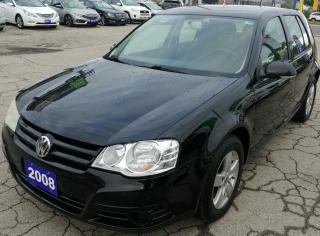 Used 2008 Volkswagen City Golf 4 Door for sale in Hamilton, ON