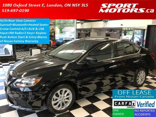2017 Nissan Sentra SVx+Camera+Sunroof+Bluetooth+Heated Seats+SmartKey