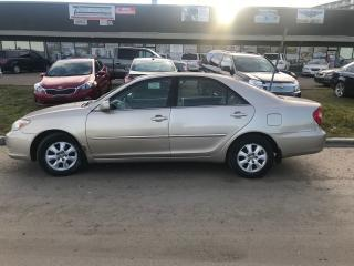 Used 2004 Toyota Camry LE for sale in Edmonton, AB