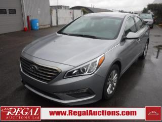 Used 2017 Hyundai Sonata GL 4D Sedan 2.4L for sale in Calgary, AB