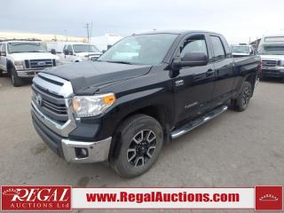 Used 2014 Toyota TUNDRA SR5 DOUBLE CAB 4WD 5.7L for sale in Calgary, AB