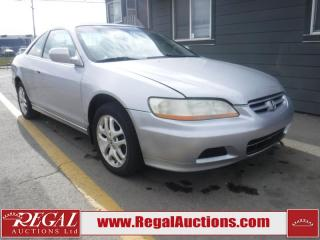 Used 2002 Honda Accord 2D Coupe for sale in Calgary, AB