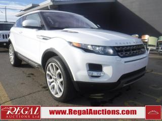 Used 2012 Land Rover RANGE ROVER EVOQUE PURE PLUS 2D UTILITY for sale in Calgary, AB