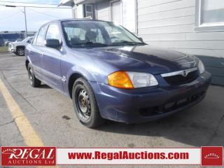 Used 2000 Mazda Protege 4D Sedan for sale in Calgary, AB