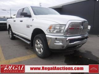 Used 2015 RAM 2500 SLT 4D TRUCK 4WD for sale in Calgary, AB