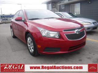 Used 2014 Chevrolet Cruze 1LT 4D Sedan FWD for sale in Calgary, AB