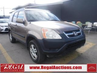 Used 2002 Honda CR-V 4D Utility for sale in Calgary, AB