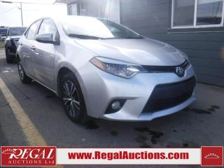 Used 2016 Toyota COROLLA LE 4D SEDAN AT for sale in Calgary, AB
