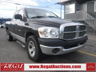 Used 2008 Dodge Ram 1500 4D Quad CAB 2WD for sale in Calgary, AB