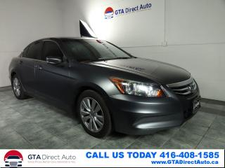Used 2012 Honda Accord EX-L NAVI V4 Sunroof Leather Camera Heat Certified for sale in Toronto, ON