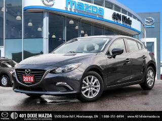 Used 2016 Mazda MAZDA3 Sport GS|ONE OWNER|NO ACCIDENTS|1.99% FINANCING for sale in Mississauga, ON