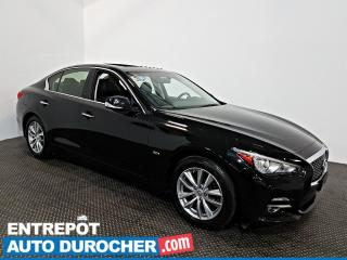 Used 2016 Infiniti Q50 2.0t AWD TOIT OUVRANT - A/C - Cuir for sale in Laval, QC