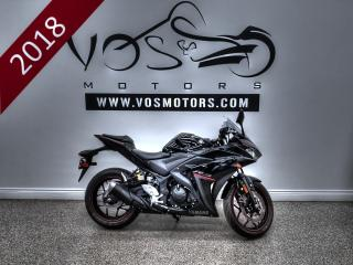 Used 2018 Yamaha YZF-R3 - No Payments For 1 Year** for sale in Concord, ON