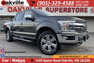 Used 2018 Ford F-150 LARIAT | PANO ROOF | LEATHER | NAVI | B/U CAM for sale in Oakville, ON