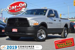 Used 2011 RAM 1500 4X4 5.7L HEMI TOW PKG A/C CRUISE PWR GRP LOADED for sale in Ottawa, ON