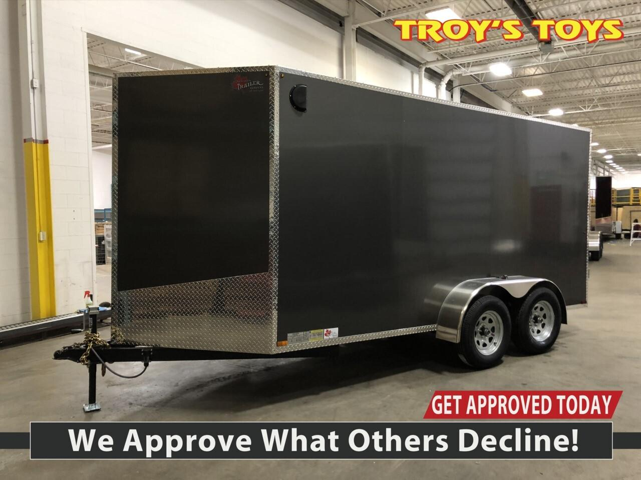 2020 Canadian Trailer Company 6X14 V-Nose Cargo Trailer