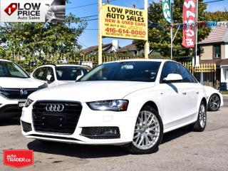 Used 2015 Audi A4 SLine*AWD*Xenon*AllPowerOpti*HtdSeats&More! for sale in Toronto, ON