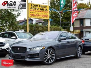 Used 2017 Jaguar XE V6 SC R-Sport*Navi*BlindSpot*Camera*FullOpti* for sale in Toronto, ON