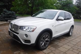 Used 2016 BMW X3 Diesel*Panoramic*Navi*Camera*Sensors*BMWWarranty* for sale in Toronto, ON