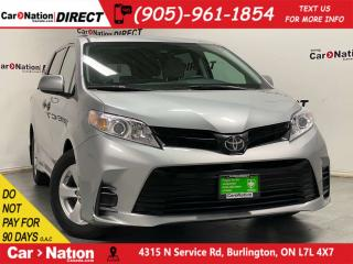 Used 2018 Toyota Sienna LE| BACK UP CAMERA| 3-ZONE CLIMATE CONTROL| for sale in Burlington, ON