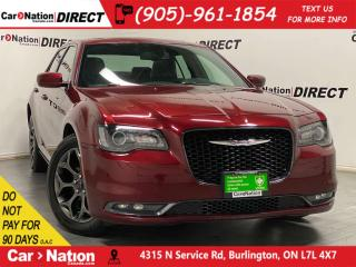 Used 2018 Chrysler 300 S| LEATHER| PANO ROOF| NAVI| AWD| for sale in Burlington, ON
