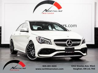 Used 2017 Mercedes-Benz CLA-Class CLA45 AMG 4MATIC|Navigation|Blindspot|Premium 2|Pano for sale in Vaughan, ON