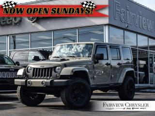 Used 2017 Jeep Wrangler Unlimited Sahara l SOLD BY ADRIAN THANK YOU!!! for sale in Burlington, ON