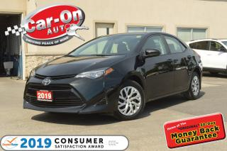 Used 2019 Toyota Corolla LE REAR CAM HTD SEATS ADAPTIVE CRUISE A/C LOADED for sale in Ottawa, ON