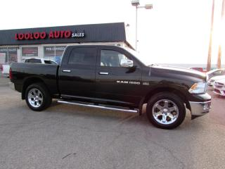 Used 2011 Dodge Ram 1500 LARAMIE CREW CAB 4WD HEMI 5.7L NAVI CAMERA CERTIFIED for sale in Milton, ON