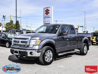 Used 2014 Ford F-150 XTR Super Cab 4x4 ~5.0L V8 ~Trailer Tow Package for sale in Barrie, ON