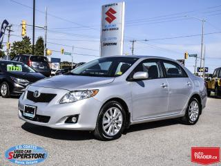 Used 2009 Toyota Corolla LE ~Power Moonroof ~Power Seat ~Fog Lamps ~Alloys for sale in Barrie, ON