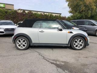 Used 2013 MINI Cooper Convertible cooper convertible automatic leatherette bluetooth for sale in St. George Brant, ON