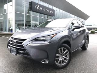 Used 2017 Lexus NX 200t 6A Premium PKG, NO Accidents, Local for sale in North Vancouver, BC
