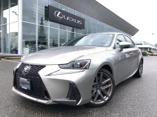 Used 2017 Lexus IS 350 F Sport Series 3, Certified, NO Accidents, LOW KM for sale in North Vancouver, BC