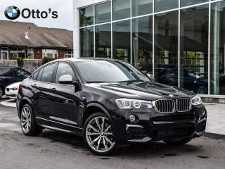 Used 2017 BMW X4 M40i Heads up display, navi for sale in Ottawa, ON