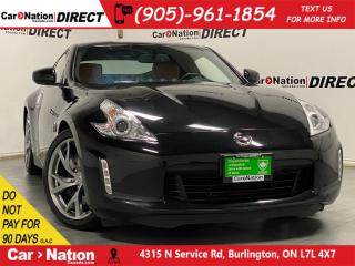 Used 2014 Nissan 370Z Touring| LEATHER| NAVI| LOCAL TRADE| for sale in Burlington, ON