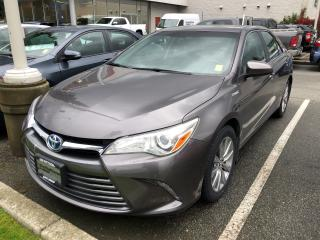 Used 2015 Toyota Camry HYBRID - for sale in North Vancouver, BC